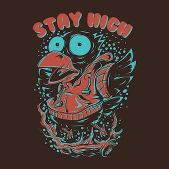 Blijf hoog