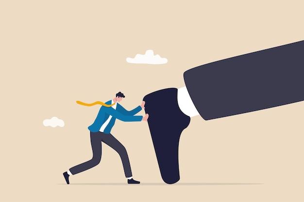 Blijf jezelf pushen, blijf jezelf ontwikkelen of verbeter jezelf om moeilijkheden te overwinnen