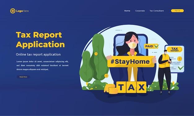 Blijf thuis en dien eenvoudig belastingen in met mobiele belastingaanvraag