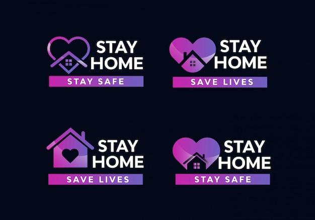 Blijf thuis ingesteld