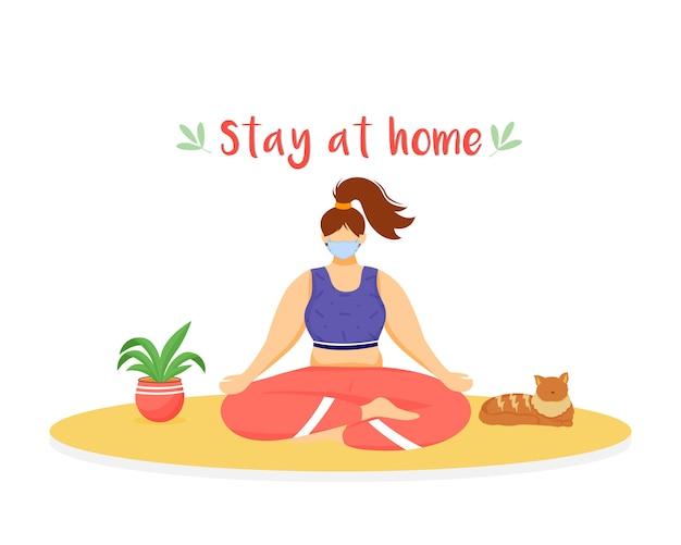 Blijf thuis