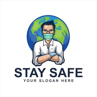 Blijf veilig logo