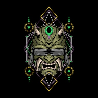 Blinde duivel heilige geometrie