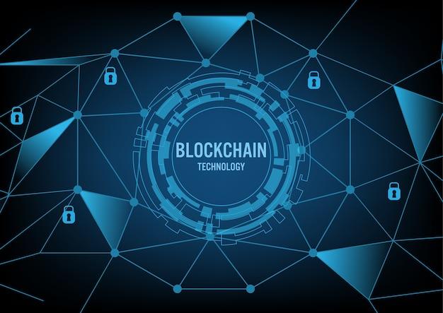Blockchain technologieconcept