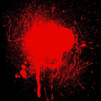 Bloed spetter