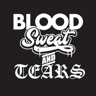 Bloed zweet en tranen