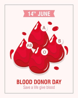 Bloeddonordag poster