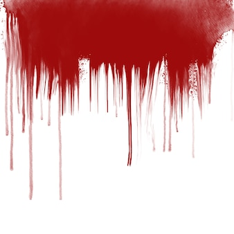 Bloeddruppels op witte achtergrond
