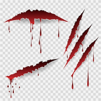 Bloedige krassen