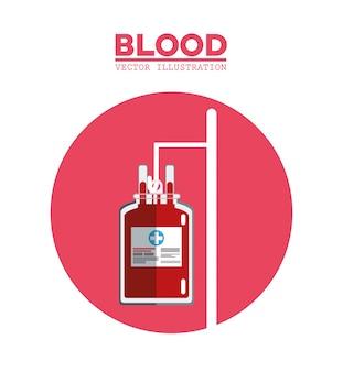 Bloedzaktransfusiesymbool