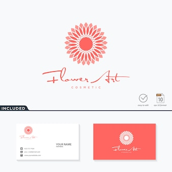 Bloem logo ontwerp inspiratie