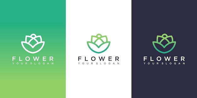 Bloem logo ontwerp