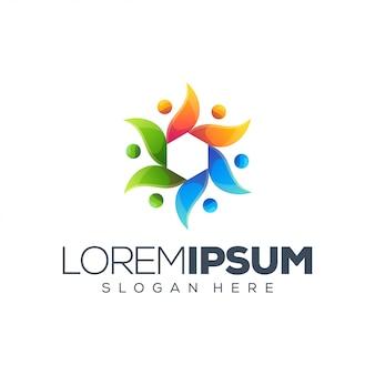 Bloem logo sjabloon