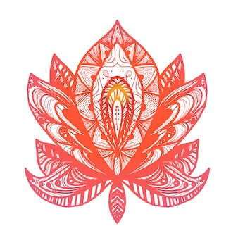 Bloem lotus tattoo