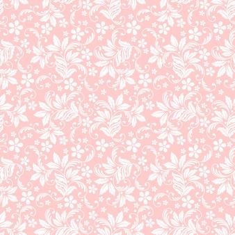 Bloem naadloze patroon achtergrond