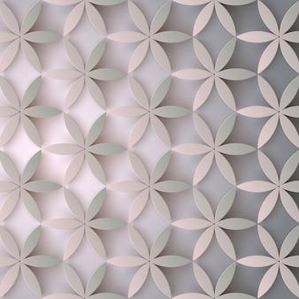Bloemen 3d patroon