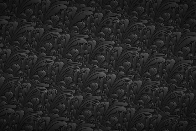 Bloemen abstracte sierachtergrond
