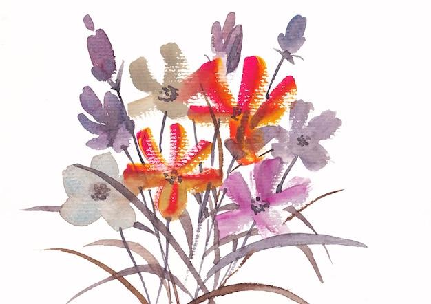 Bloemen achtergrond natuur
