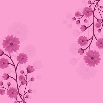 Bloemen achtergrond.
