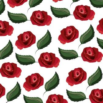 Bloemen achtergrondpatroon