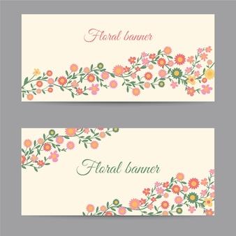 Bloemen banners