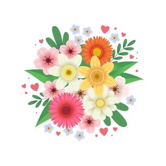 Bloemen bouquel bloemen bos