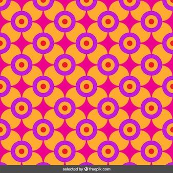 Bloemen cirkelvormig patroon