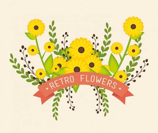 Bloemen en bloemenontwerp.