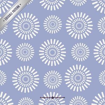 Bloemen gratis template patroon