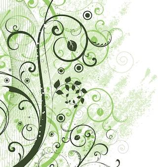 Bloemen grunge achtergrond