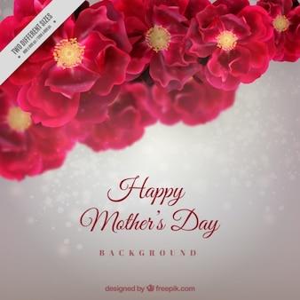 Bloemen moederdag achtergrond