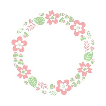 Bloemen monogram papier uitgesneden bestanden