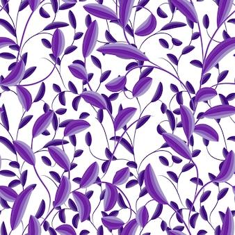 Bloemen naadloos mooi patroon