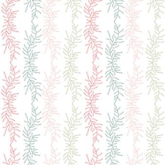 Bloemen naadloze achtergrond. textiel patroon printontwerp.