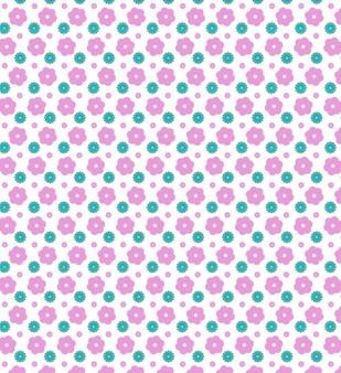 Bloemen naadloze vector patroon