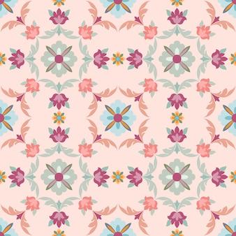 Bloemen ornament naadloze patroon