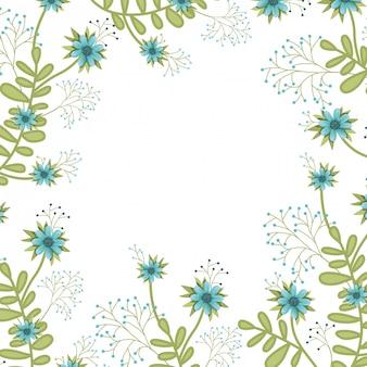 Bloemen patroon geïsoleerde pictogram