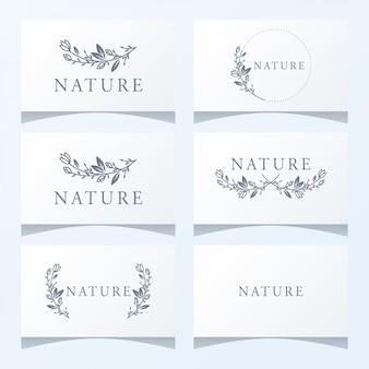 Bloemen sieraad logo klaar voor gebruik