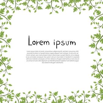 Bloemen vectorontwerp als achtergrond