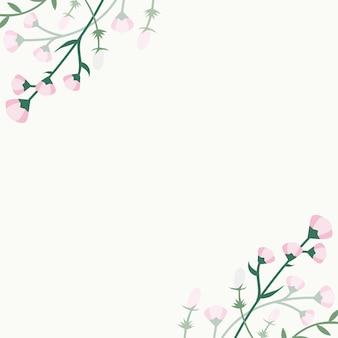 Bloemen zomer achtergrond
