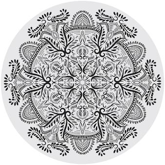 Bloemencirkel mandala