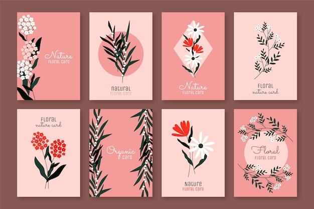 Bloemenkaarten collectie