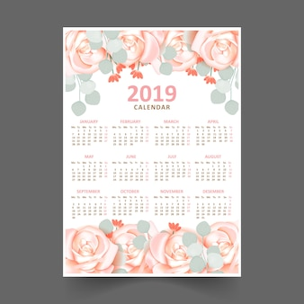 Bloemenkalender 2019
