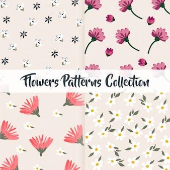 Bloemenpatronen collectie