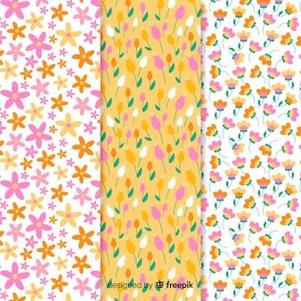 Bloemenpatroon collectie