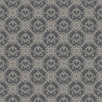 Bloemenpatroon wallpapers in de stijl van barok. kan worden gebruikt voor achtergronden en webdesign voor paginavulling.