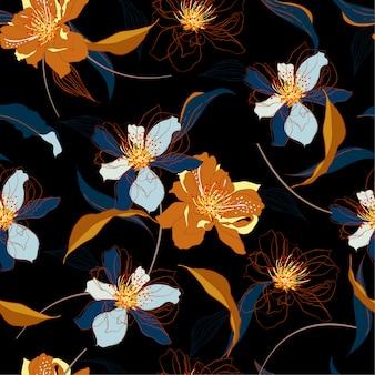 Bloemenpatroon