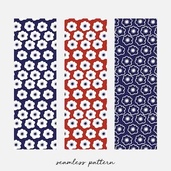Bloemenprint patroon, japan geïnspireerd
