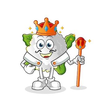 Bloemkool koning