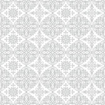 Bloempatroon indonesisch motief batik is een techniek van waxresist-verven toegepast op hele stof